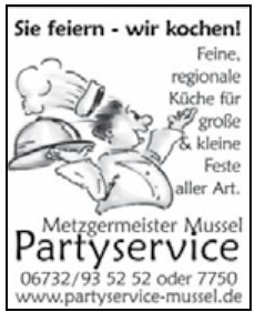 Mussel Partyservice